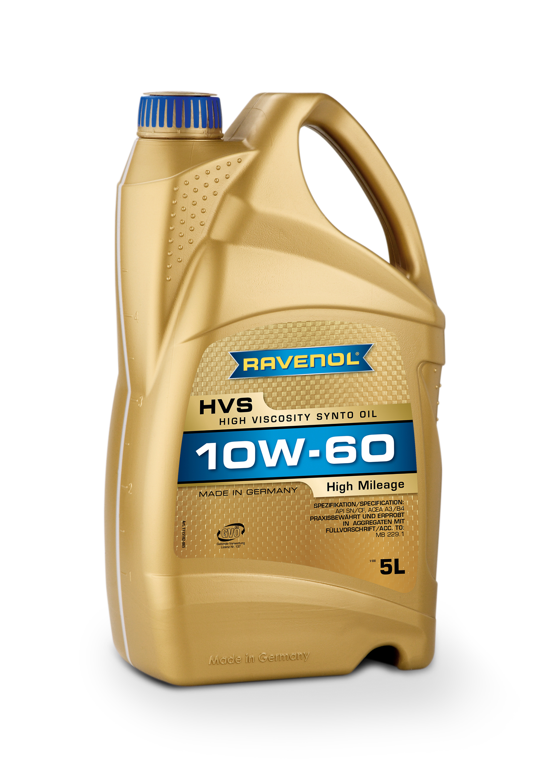 RAVENOL HVS High Viscosity Synto Oil SAE 10W60